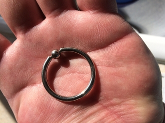 THE ORIGINAL GLANS RING WITH PRESSURE BALL